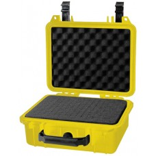RADIO CASE, YELLOW, WEATHERPROOF, POLYMER