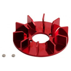 GAUI NX4 CNC Fan upgrade(Red anodized)