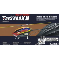 ALIGN T-REX 600XN SUPER COMBO WITH ENGINE & MUFFLER